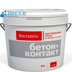 Фото 1 - Грунт Байрамикс Бетон контакт  [6кг]  Bayramix.
