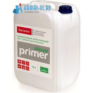 "Фото 1 - Грунт Байрамикс ""Праймер""  силиконовый Primer Silicone  [10л]  Bayramix."