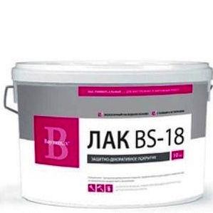 """Фото 7 - Лак Байрамикс """"BS-18"""" для интерьера, прозрачное, полуматовое защитное покрытие [10кг]  Bayramix."""