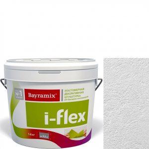 """Фото 9 - Мраморная штукатурка Байрамикс """"Ай-Флекс FL 001"""" (I-Flex) эластомерная акриловая фракция 0,7-1,2 мм  [14кг]  Bayramix."""