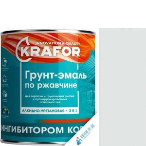 """Фото 1 - Грунт-эмаль Крафор """"по Ржавчине Белая"""" алкидно-уретановая 3 в 1  уп - 14 шт, по [1кг] Krafor."""