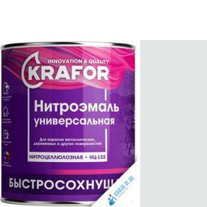 """Фото 8 - НитроЭмаль Крафор """"НЦ-132 Белая"""" универсальная быстросохнущая гладкая  [17кг] Krafor."""