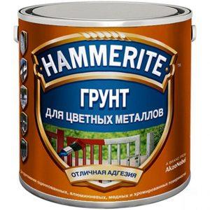 """Фото 3 - Грунт Хаммерайт """"Special Metals Primer"""" красный для поверхностей из цветных металлов  [0.5л] Hammerite."""