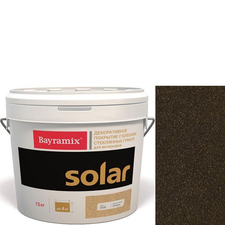 """Фото 2 - Декоративное покрытие Байрамикс """"Солар S206 Шоколадное"""" (Solar) с блеском стеклянных гранул [12кг] Bayramix."""