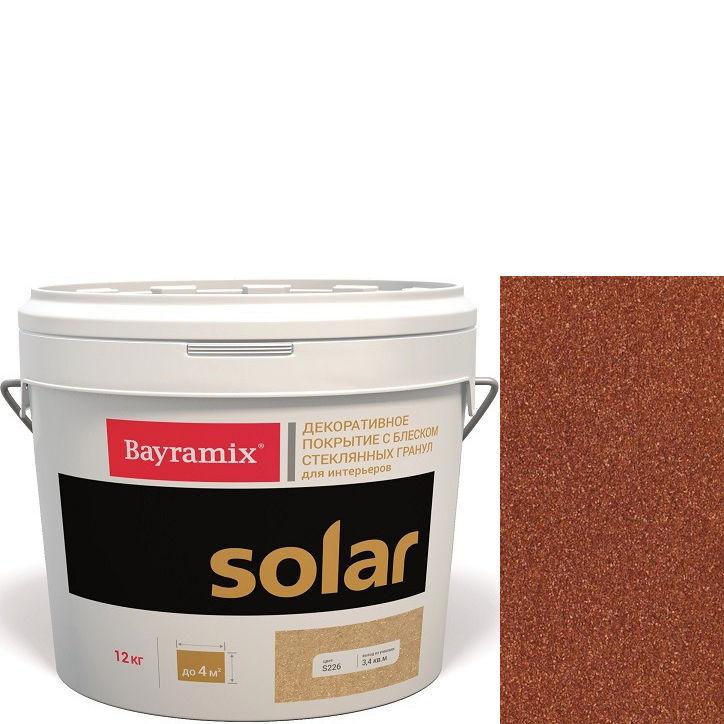 """Фото 8 - Декоративное покрытие Байрамикс """"Солар S227 Коралловое"""" (Solar) с блеском стеклянных гранул  [12кг]  Bayramix."""