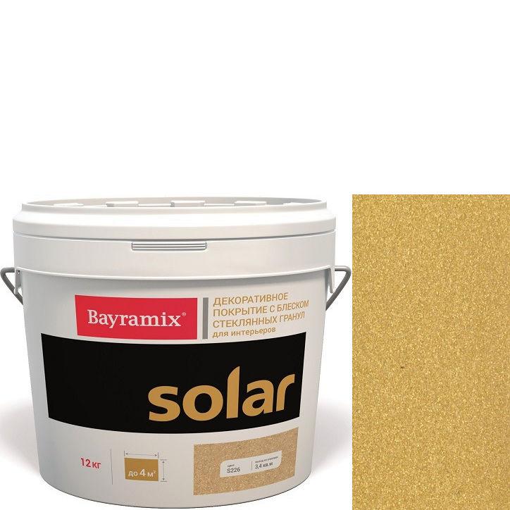 """Фото 11 - Декоративное покрытие Байрамикс """"Солар S231 Шафран"""" (Solar) с эффектом перламутра [12кг] Bayramix."""