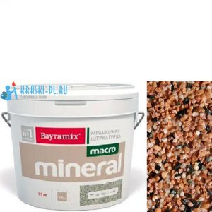 "Фото 8 - Мраморная штукатурка Байрамикс ""Макроминерал 1020"" (Macro Mineral) мраморная, фракция Macro 1,5-2,0 мм  [15кг]  Bayramix."