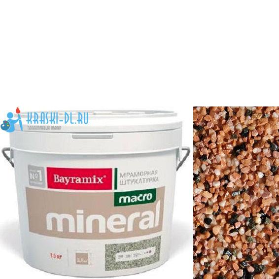 "Фото 1 - Мраморная штукатурка Байрамикс ""Макроминерал 1020"" (Macro Mineral) мраморная, фракция Macro 1,5-2,0 мм  [15кг]  Bayramix."