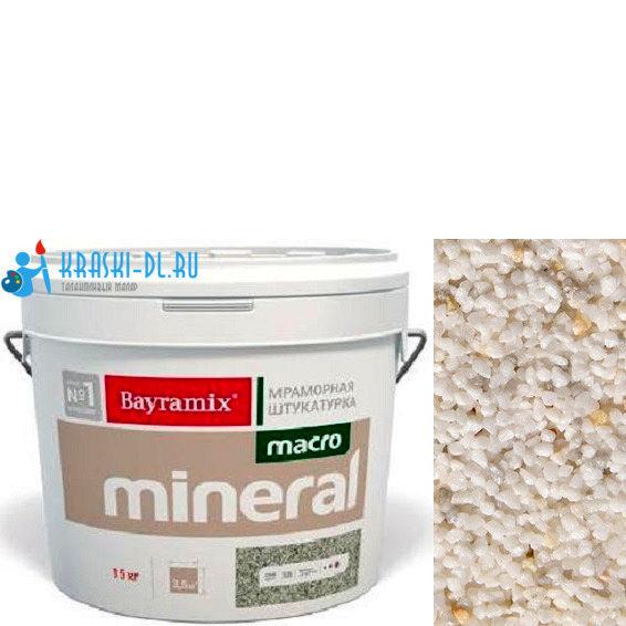 "Фото 1 - Мраморная штукатурка Байрамикс ""Макроминерал 1033"" (Macro Mineral) мраморная, фракция Macro 1,5-2,0 мм  [15кг]  Bayramix."