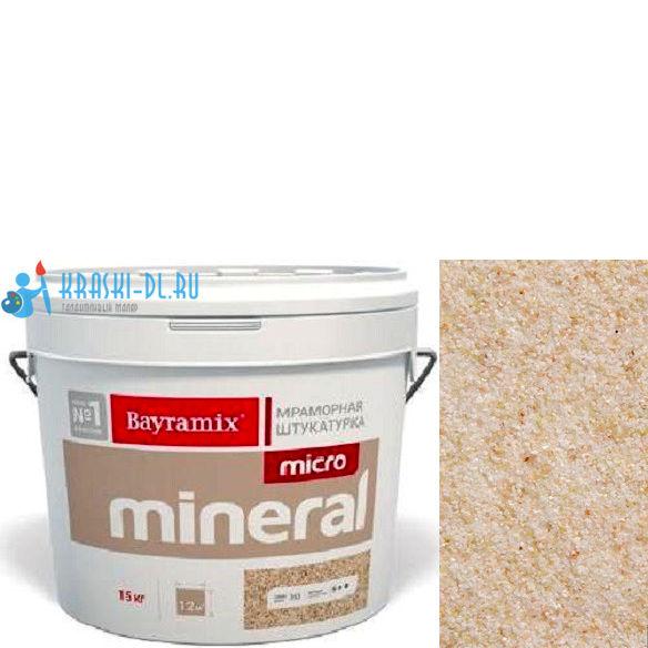 "Фото 1 - Мраморная штукатурка Байрамикс ""Микроминерал 601"" (Micro Mineral) мраморная, фракция 0,2-0,5 мм [15кг] Bayramix."