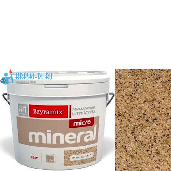 "Фото 2 - Мраморная штукатурка Байрамикс ""Микроминерал 602"" (Micro Mineral) мраморная, фракция 0,2-0,5 мм [15кг] Bayramix."