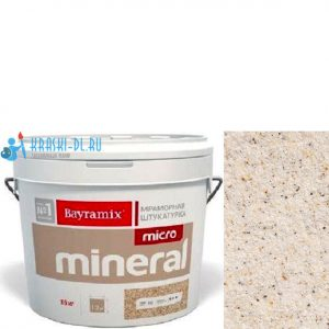 "Фото 4 - Мраморная штукатурка Байрамикс ""Микроминерал 604"" (Micro Mineral) мраморная, фракция 0,2-0,5 мм [15кг] Bayramix."