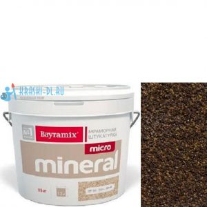 "Фото 7 - Мраморная штукатурка Байрамикс ""Микроминерал 607"" (Micro Mineral) мраморная, фракция 0,2-0,5 мм [15кг] Bayramix."
