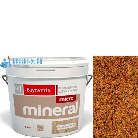 "Фото 10 - Мраморная штукатурка Байрамикс ""Микроминерал 610"" (Micro Mineral) мраморная, фракция 0,2-0,5 мм [15кг] Bayramix."