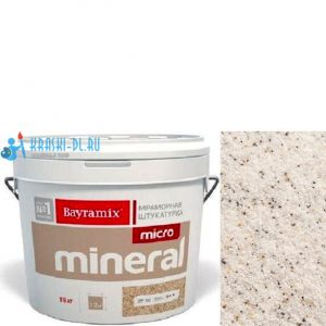 "Фото 1 - Мраморная штукатурка Байрамикс ""Микроминерал 611"" (Micro Mineral) мраморная, фракция 0,2-0,5 мм  [15кг]  Bayramix."