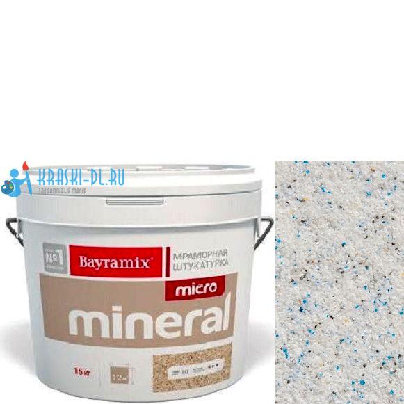 "Фото 14 - Мраморная штукатурка Байрамикс ""Микроминерал 614"" (Micro Mineral) мраморная, фракция 0,2-0,5 мм [15кг] Bayramix."