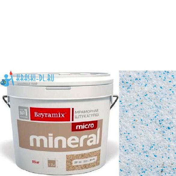 "Фото 15 - Мраморная штукатурка Байрамикс ""Микроминерал 615"" (Micro Mineral) мраморная, фракция 0,2-0,5 мм [15кг] Bayramix."