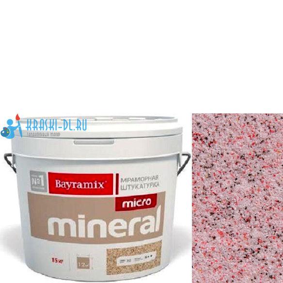 "Фото 19 - Мраморная штукатурка Байрамикс ""Микроминерал 619"" (Micro Mineral) мраморная, фракция 0,2-0,5 мм [15кг] Bayramix."