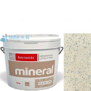 "Фото 24 - Мраморная штукатурка Байрамикс ""Минерал 315"" (Mineral) мозаичная фракция 0,7-1,2 мм [15кг] Bayramix."