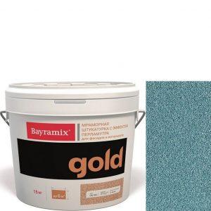 "Фото 3 - Мраморная штукатурка Байрамикс ""Минерал Голд G 081"" (Mineral Gold) мозаичная, фракция 1,2-1,5 мм  [15кг]  Bayramix."