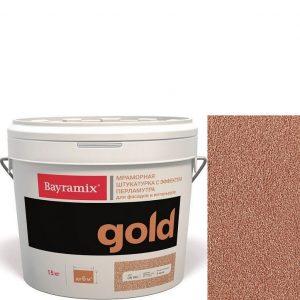 "Фото 5 - Мраморная штукатурка Байрамикс ""Минерал Голд G 084"" (Mineral Gold) мозаичная, фракция 1,2-1,5 мм  [15кг]  Bayramix."