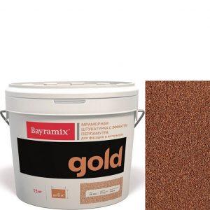 "Фото 6 - Мраморная штукатурка Байрамикс ""Минерал Голд G 091"" (Mineral Gold) мозаичная, фракция 1,2-1,5 мм  [15кг]  Bayramix."