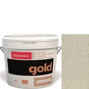 "Фото 8 - Мраморная штукатурка Байрамикс ""Минерал Голд G 102"" (Mineral Gold) мозаичная, фракция 1,2-1,5 мм  [15кг]  Bayramix."