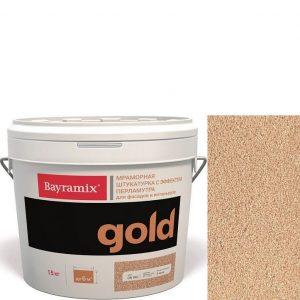 "Фото 12 - Мраморная штукатурка Байрамикс ""Минерал Голд G 580"" (Mineral Gold) мозаичная, фракция 1,2-1,5 мм  [15кг]  Bayramix."