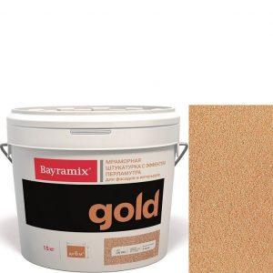 "Фото 17 - Мраморная штукатурка Байрамикс ""Минерал Голд GN 041"" (Mineral Gold) мозаичная, фракция 0,7-1,2 мм  [15кг]  Bayramix."