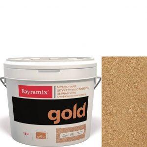 "Фото 21 - Мраморная штукатурка Байрамикс ""Минерал Голд GN 202"" (Mineral Gold) мозаичная, фракция 0,7-1,2 мм  [15кг]  Bayramix."