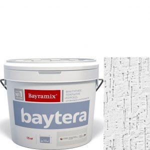 """Фото 3 - Текстурное покрытие """"Байтера Мокрая стена Белое"""" (Baytera) фактурное для внутр/наруж работ  [микро фракция (S) 1,0 - 1,5 мм] [15кг]  Bayramix."""