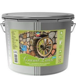 """Фото 1 - Лак Ескаро """"Гранит Аква"""" (Granit Lakk Aqua) акриловый полуматовый для камня  [0.95л] цвет [Бесцветный] Eskaro."""