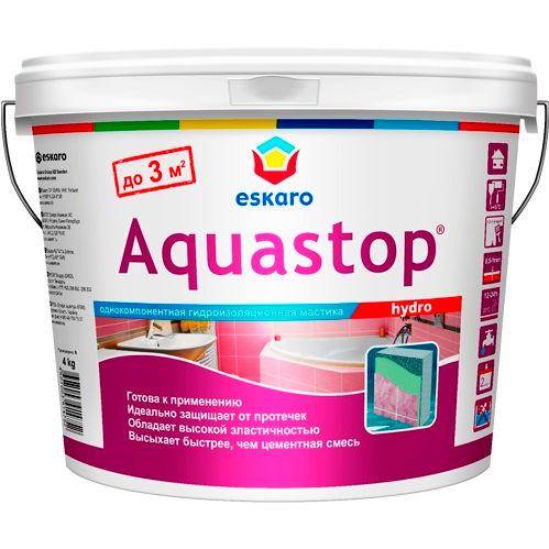 "Фото 9 - Мастика ""Аквастоп Гидро"" (Aquastop Hydro) гидроизоляционная  [16 кг] Эскаро/ Eskaro."