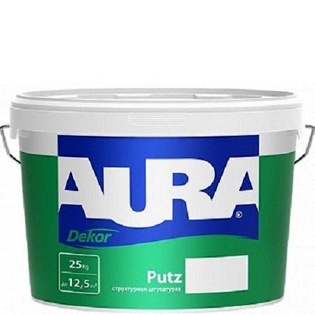 Фото 2 - Штукатурка Aura Putz Decor, декоративная, структурная, универсальная, шуба 1,5 мм 25кг, Аура.