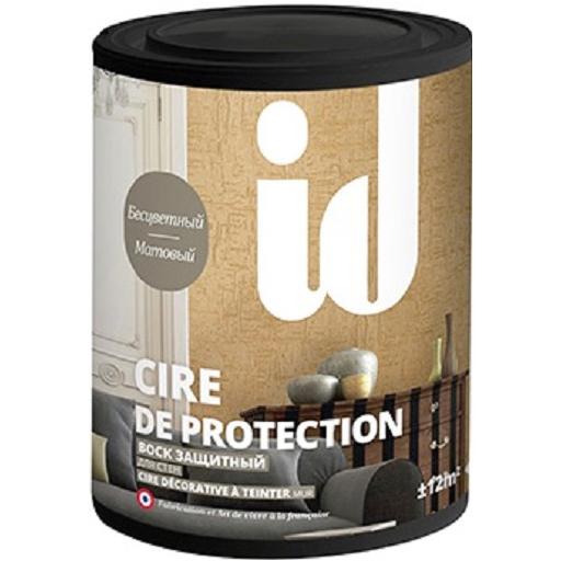 """Фото 1 - Воск АйДи Деко """"Cire de protection"""" защитный матовый бесцветный  [1л] ID Deco."""