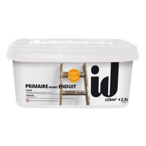 "Фото 1 - Грунт АйДи Деко ""Primaire Avant Enduit"" с кварцевым песком  [2,5л] ID Deco."