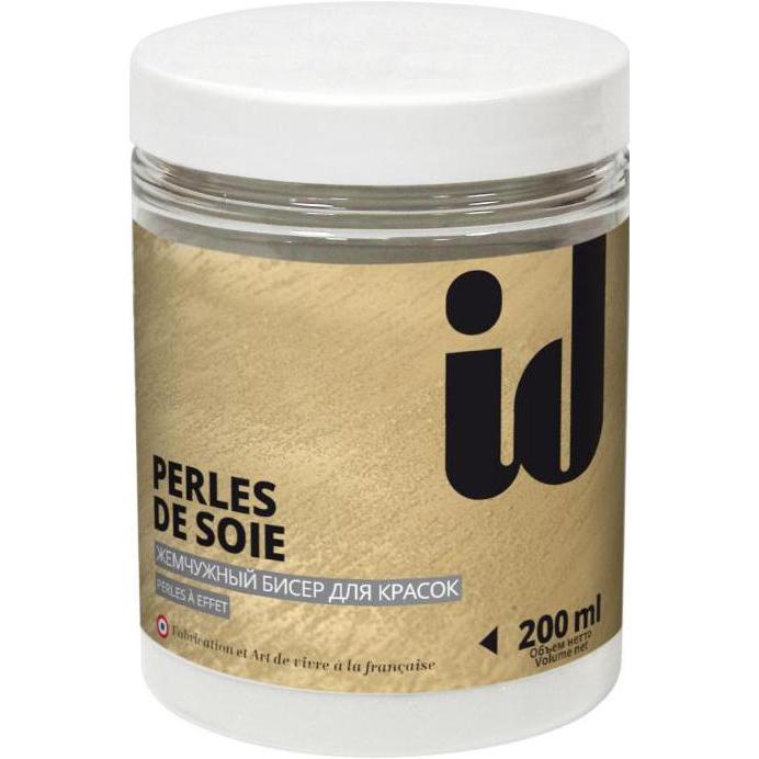 """Фото 1 - Добавка АйДи Деко """"Perle de Soie"""" шелковый жемчужный бисер для предания  """"эффекта Песка""""  [200мл] ID Deco."""