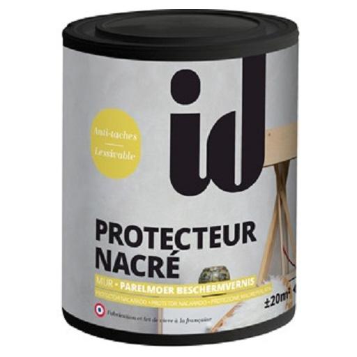 """Фото 2 - Лак АйДи Деко """"Protector Nacre"""" перламутровый  матовый защитный  [1л] ID Deco."""