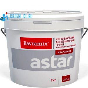 """Фото 1 - Грунт Байрамикс """"Астар Кварцевый, цвета X"""" для внутренних и наружных работ B-1 X 050 [15кг]  Bayramix."""