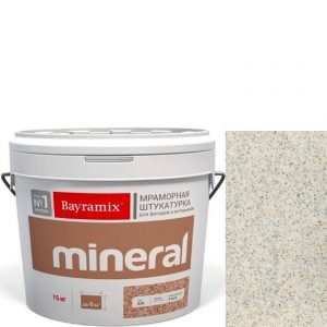 "Фото 1 - Мраморная штукатурка Байрамикс ""Минерал 002"" (Mineral) мозаичная фракция 1,2-1,5 мм [15кг] Bayramix."