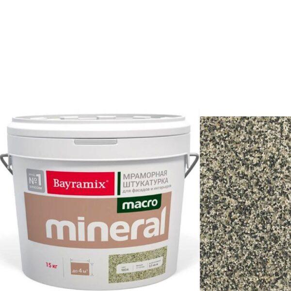 "Фото 1 - Мраморная штукатурка Байрамикс ""Макроминерал 1013"" (Macro Mineral) мраморная, фракция Macro 1,5-2,0 мм  [15кг]  Bayramix."