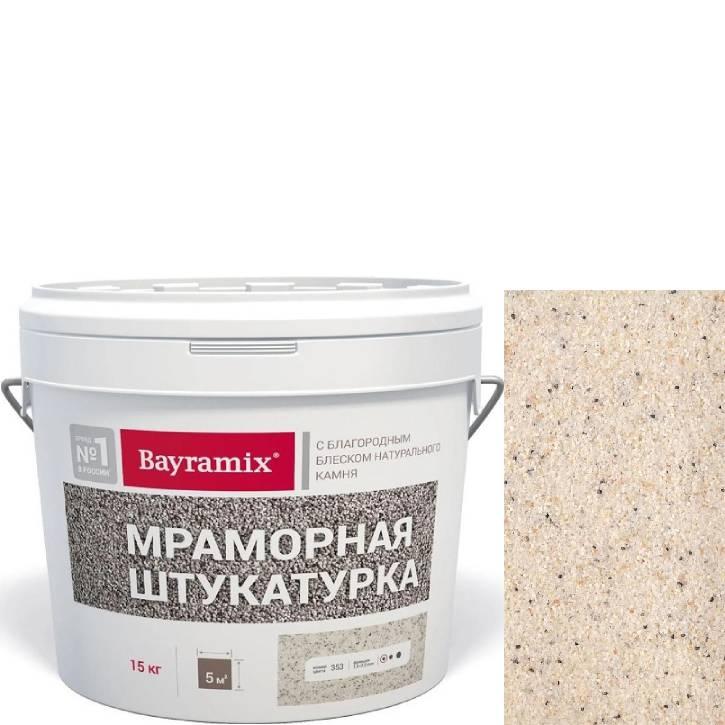 "Фото 5 - Мраморная штукатурка Байрамикс ""Magnolia White-K"" фракция 1,0-1,5 мм  Magnolia White-K [15кг] Bayramix."