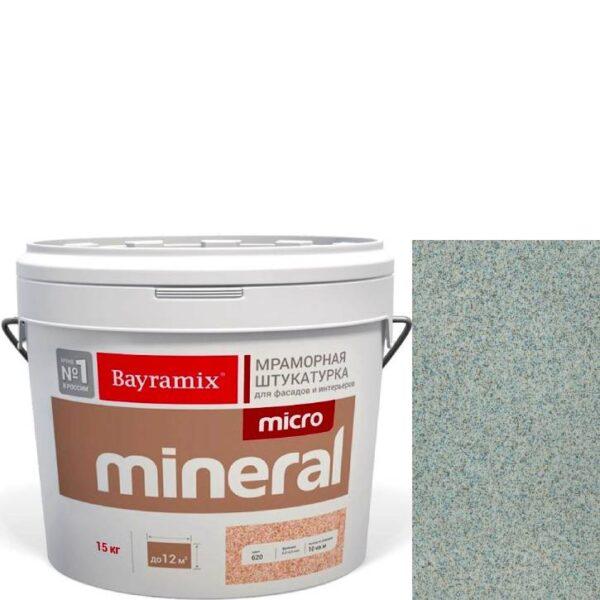 "Фото 1 - Мраморная штукатурка Байрамикс ""Микроминерал 616"" (Micro Mineral) мраморная, фракция 0,2-0,5 мм  [15кг]  Bayramix."