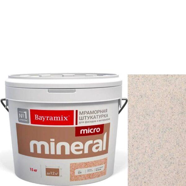 "Фото 1 - Мраморная штукатурка Байрамикс ""Микроминерал 673"" (Micro Mineral) мраморная, фракция 0,2-0,5 мм  [15кг]  Bayramix."