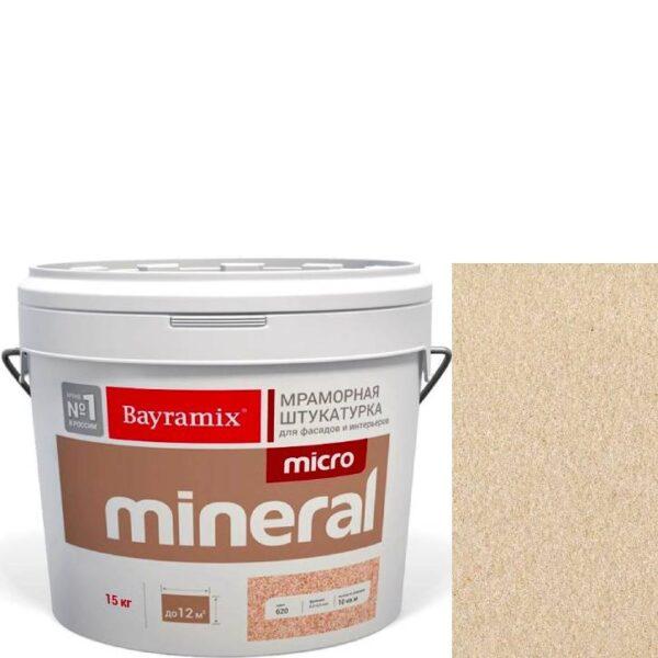 "Фото 1 - Мраморная штукатурка Байрамикс ""Микроминерал 677"" (Micro Mineral) мраморная, фракция 0,2-0,5 мм  [15кг]  Bayramix."