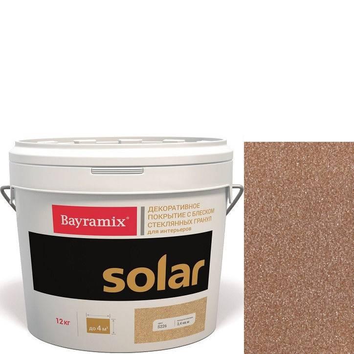 """Фото 9 - Декоративное покрытие Байрамикс """"Солар S228 Сомон"""" (Solar) с эффектом перламутра [12кг] Bayramix."""