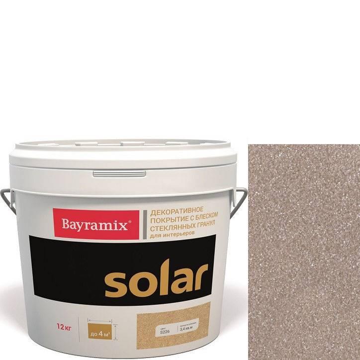 """Фото 19 - Декоративное покрытие Байрамикс """"Солар S263 Кремовый"""" (Solar) с эффектом перламутра [12кг] Bayramix."""
