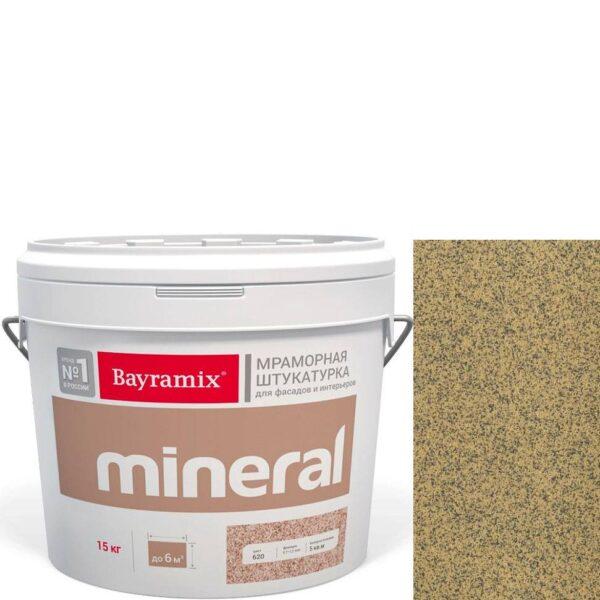 "Фото 1 - Мраморная штукатурка Байрамикс ""Минерал 061"" (Mineral цвет Saftas) мозаичная, фракция 0,5-0,7 мм  [15кг]  Bayramix."