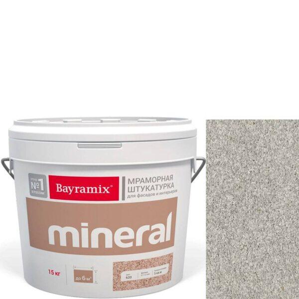 "Фото 1 - Мраморная штукатурка Байрамикс ""Минерал 850"" (Mineral цвет Saftas) мозаичная, фракция 1,2-1,5 мм  [15кг]  Bayramix."
