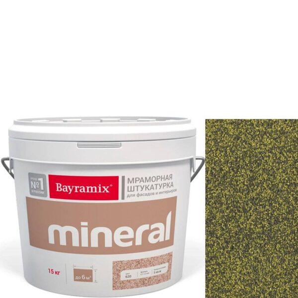 "Фото 1 - Мраморная штукатурка Байрамикс ""Минерал 851"" (Mineral цвет Saftas) мозаичная, фракция 1,2-1,5 мм  [15кг]  Bayramix."
